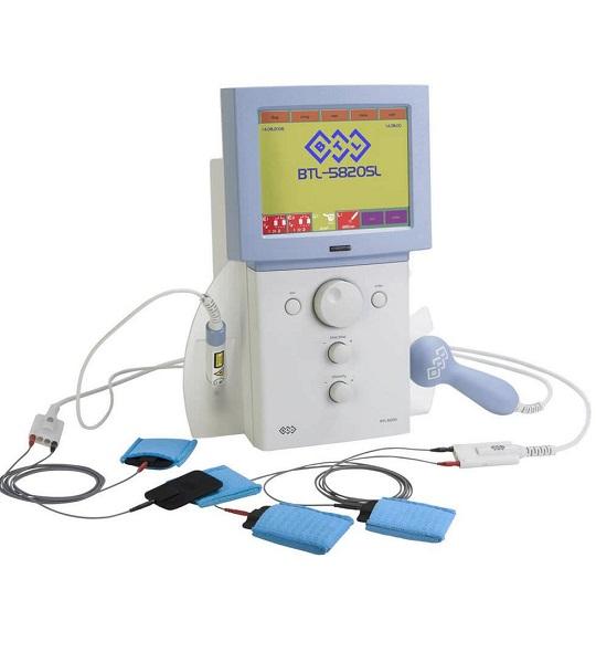 BTL-5000 Electrotherapie, Ultrasunet și Laser
